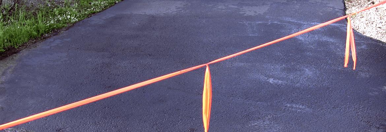 Caring for a freshly sealed asphalt driveway