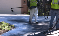 An asphalt driveway should be sealed frequently