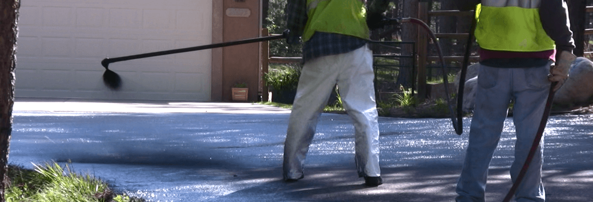 The frequency of sealing asphalt driveways