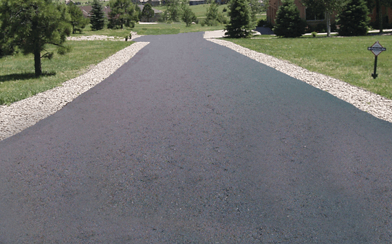 Asphalt driveway paving by a reputable asphalt paving contractor