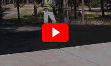 Asphalt Driveway Repair and Sealing Video