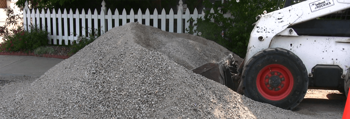 A concrete driveway must be installed on solid base
