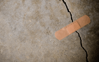 Concrete cracks need to be sealed frequently to prevent premature deterioration
