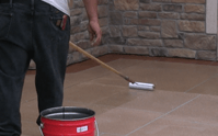 Care for a new concrete driveway
