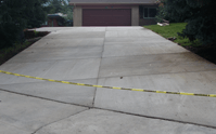 Caring for a new concrete driveway