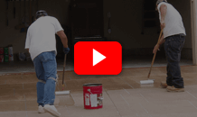 Concrete sealing video