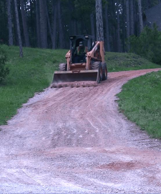 Gravel driveway contractors