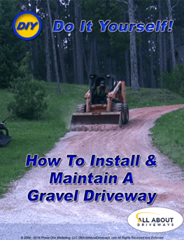 Learn how to repair and maintain a gravel driveway yourself