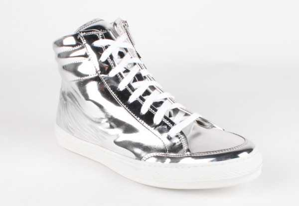 Robin's Jean - High Silver Foil Men's Shoes