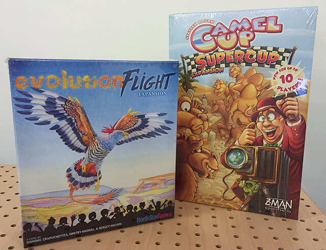 Evolution Expansion : Flight and Camel Up Expansion : Supercup