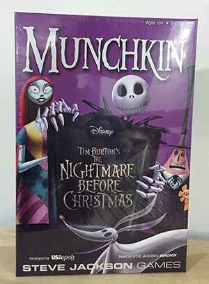 Munchkin : The Nightmare Before Christmas