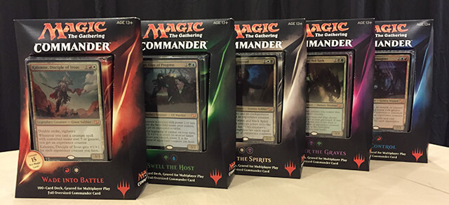 2015 MTG Commander Decks