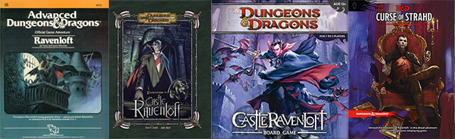 D&D Ravenloft : brief history