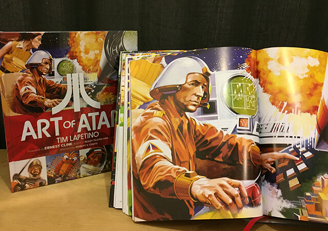 Insert Image of Art of Atari Coffee Table Book