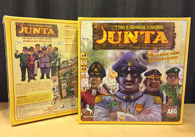 Insert Picture of Junta