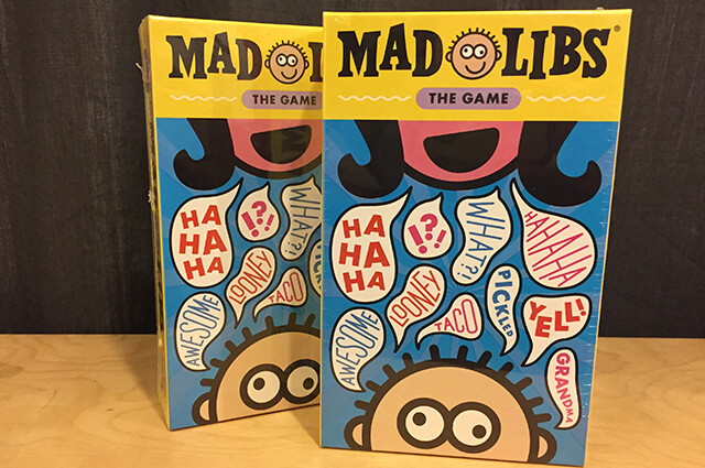Insert Image of Mad Libs by Loony Labs