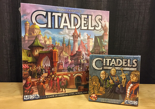 Insert Citadels New Printing and Citadels Classic