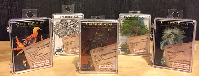 Dungeon World Creature Cards