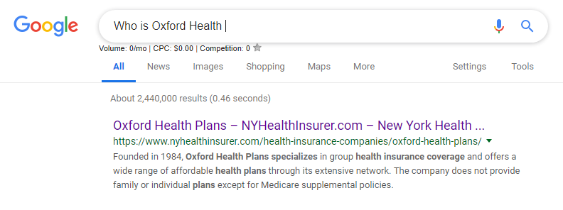 Who-is-Oxford-Health