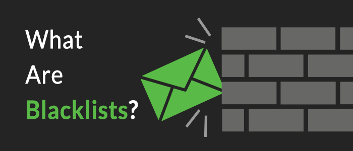What are email blacklists?