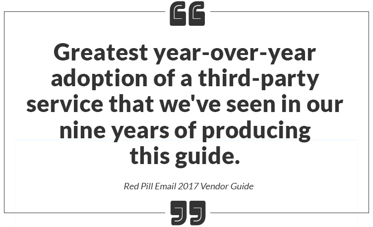 Red Pill Email Vendor Guide 2017 250ok Deliverability Analytics