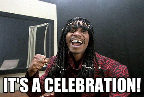 its a celebration