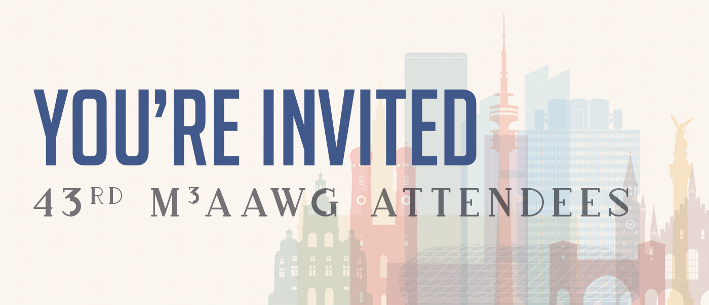 Invitation for M3AAWG attendees