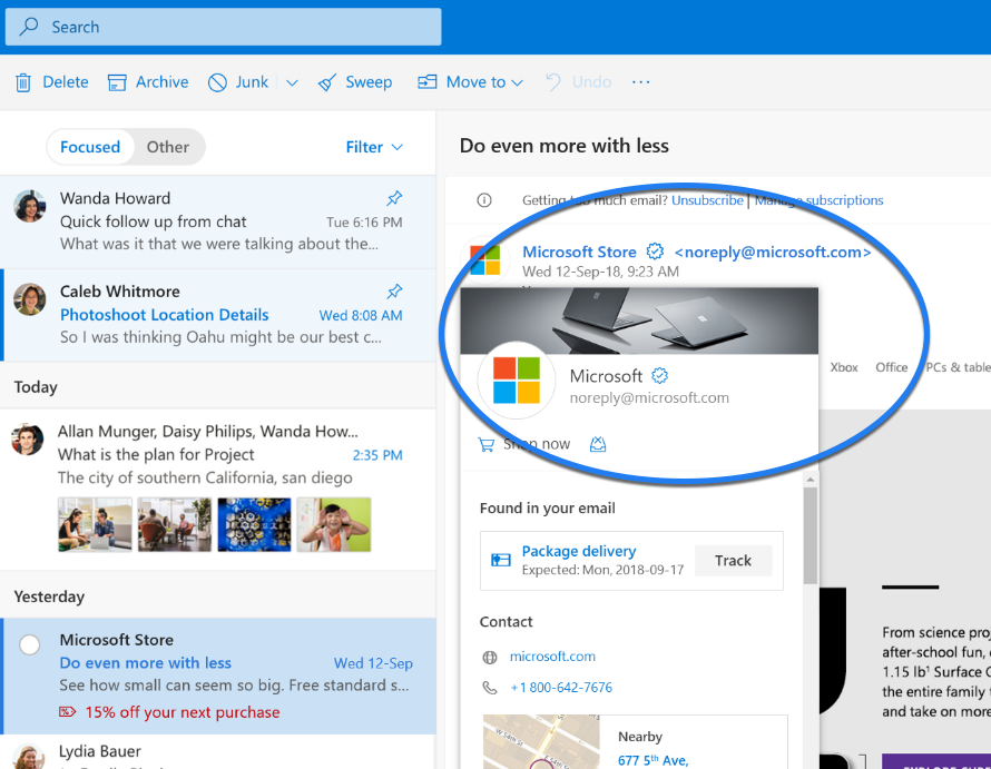 """Microsoft introduces new """"verified"""" icons for businesses  
