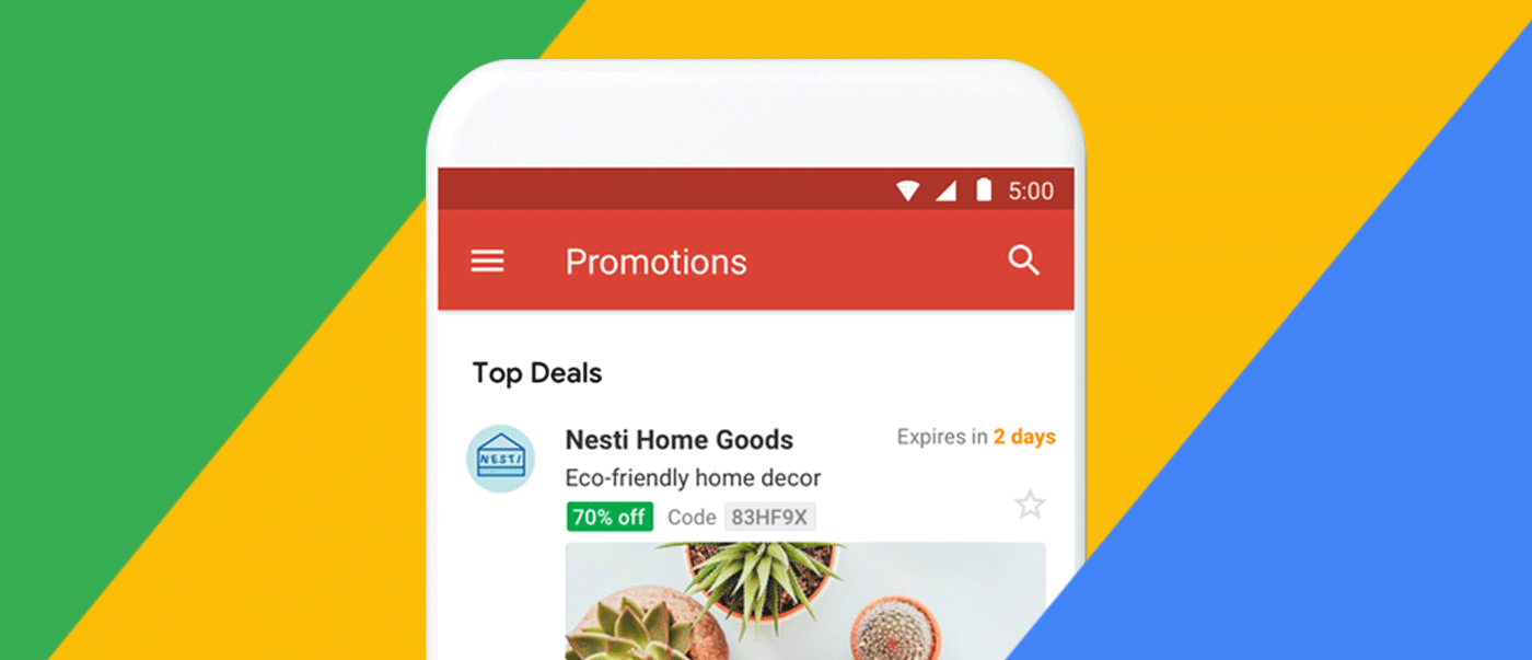 Google introduces email annotations for Gmail promo tab  | 250ok