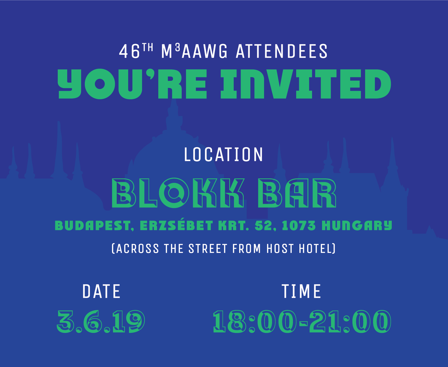 Budapest-Invite