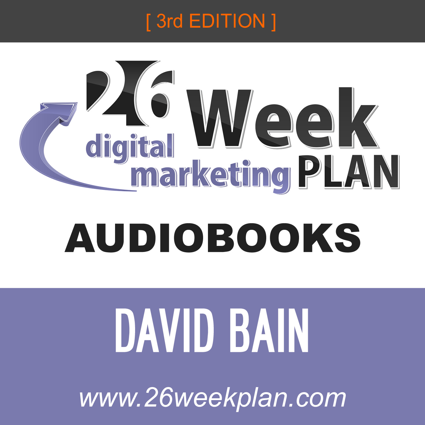 26-Week Digital Marketing Plan AUDIOBOOKS