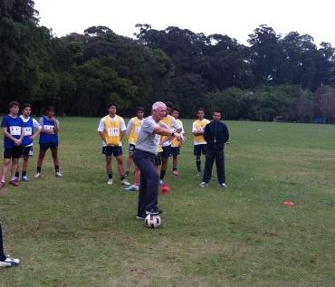 Barry Gorman visita 2SV SPORTS Brasil