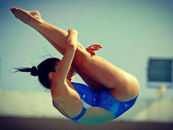 Desacreditada com o esporte no Brasil, ela foi brilhar nos EUA e colecionar conquistas no saltos ornamentais.