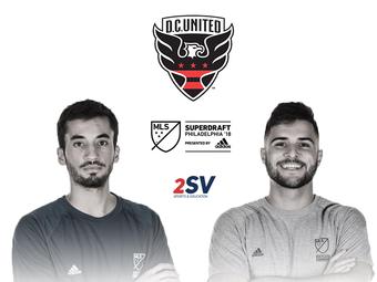 Afonso Pinheiro e Rafael Andrade, estudantes-atletas da 2SV, são selecionados pelo D.C. United na MLS