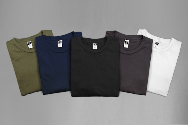 5 Colors of Shirts