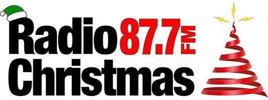 Radio christmas 87.7fm logo