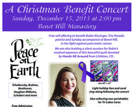 Christmas Benefit Concert & Auction at Benet Hill