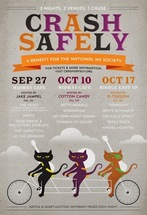 Crash Safely: Benefit for the National MS Society