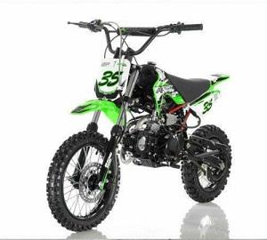 APOLLO DB-35 125cc Manual Clutch Dirt Bike