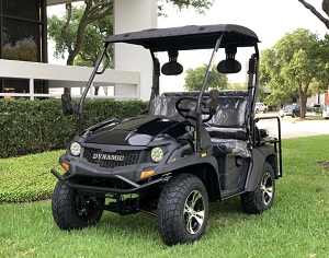 Fully Loaded Cazador OUTFITTER 200 Golf Cart 4 Seater Street Legal UTV