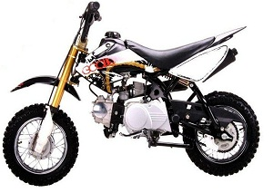 Dirt bike 70 cc coolster for kids semi auto 70 cc dirt bike