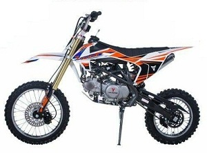 TaoTao DBX1 140cc Dirt Bike, 140cc, Air Cooled, 4-Stroke, Single-Cylinder