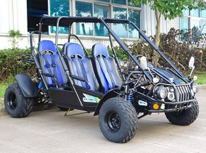 TrailMaster 300 XRS4 Go Kart, CVT Fully Automatic Liquid Cool Engine