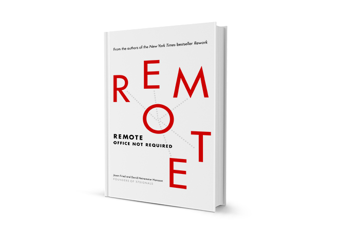 Book Review: 'Remote' by Jason Fried and David Heinemeier Hansson | Digital  Magazine