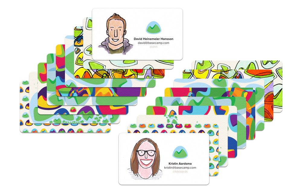 Design Discussions: Having fun with Basecamp business cards – Signal ...