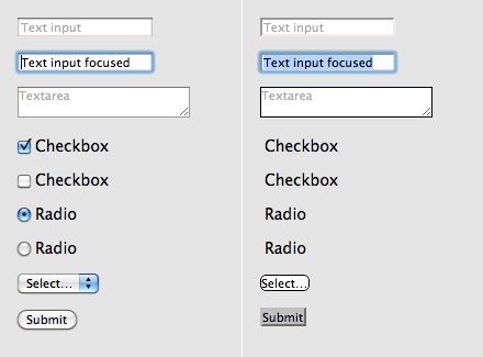 Customizing web forms with CSS3 and WebKit – Signal v  Noise
