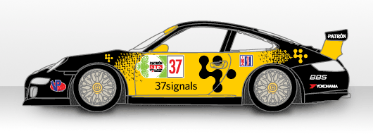 Behind the scenes: 37signals race car graphics – Signal v  Noise