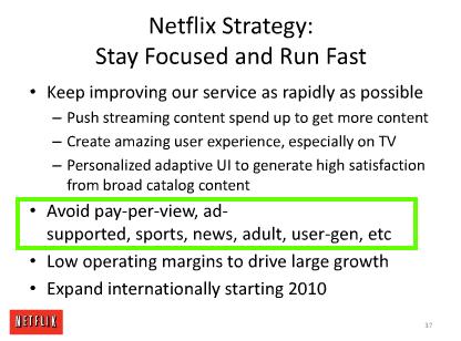 netflix business plan