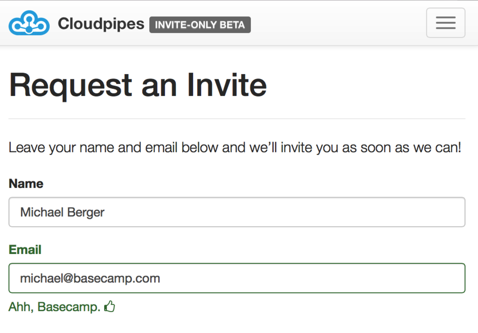 Request an Invite | Cloudpipes.png