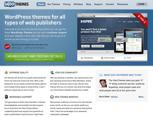 Bootstrapped, Profitable, & Proud: WooThemes – Signal v  Noise
